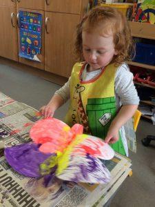 Making beautiful butterflies