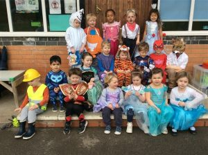 World book day at Preschool