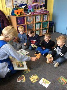 Storytime at preschool